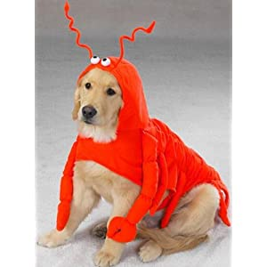 Dog Costume - Maine Lobster Dog Halloween Costume - Large
