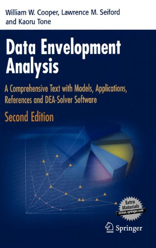 Data Envelopment Analysis: A Comprehensive Text with...