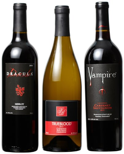 Vampire Vineyards Variety Mixed Pack, 3 X 750 Ml
