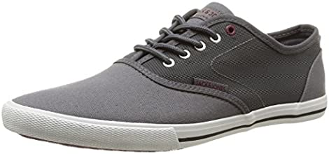 Jack & Jones Spider, Sneakers Basses homme, Gris (Pewter), 43 EU