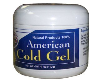 American Natural Cold Gel 4 oz Excessive Body Fat Burner Reducer
