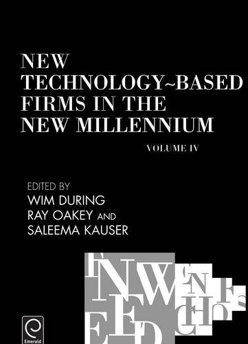 New Technology-Based Firms in the New Millennium IV