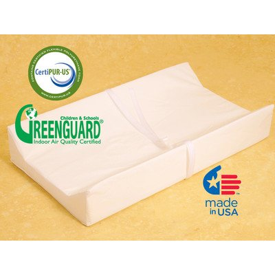 "Nursery Essentials Contour Changing Pad with Nylon Cover Size: 30"" - 1"