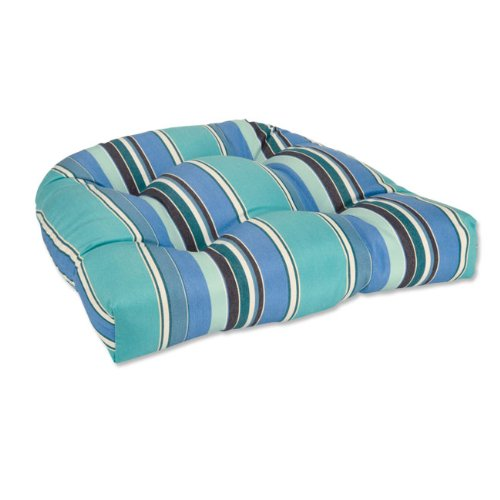 Sunbrella Tufted Round Chair Cushions / Only Round Back Chairs, No Ties,  Antique
