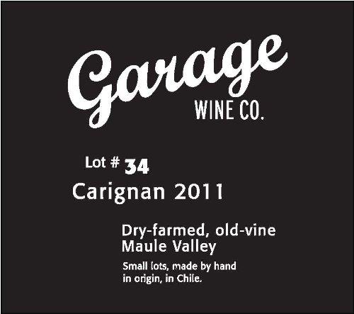 2011 Garage Wine Co. Carignan Lot #34, Maule Valley 750 Ml