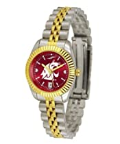 Washington State University Ladies Gold Dress Watch