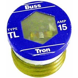 Bussmann S-1-1/4 1-1/4 Amp Type S Time-Delay Dual-Element Plug Fuse Rejection Base, 125V UL Listed, 4-Pack
