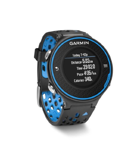 Garmin Forerunner 620 - Black/Blue Bundle (Includes Heart Rate Monitor)