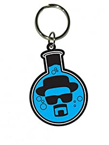 Posters: Breaking Bad Keychain Keyring For Fans - Flask (2 x 2 inches)