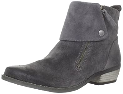 Nine West Women's Bleaker Ankle Boot,Dark Grey,8 M US