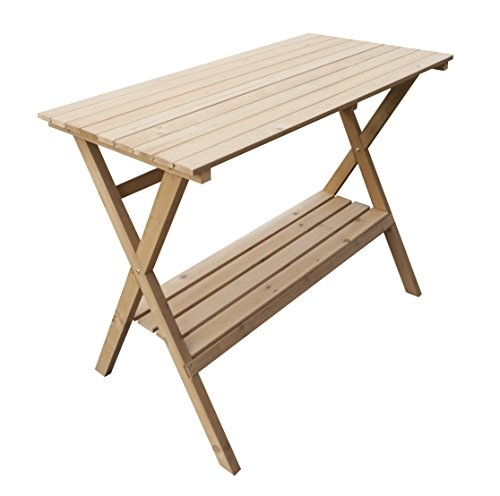 Merry Garden Fir Wood Potting Bench and Console Table (Patio Console Table compare prices)