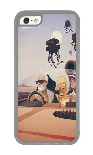 Apple Iphone 5C Case,WENJORS Cute Fear and Loathing on Tatooine Soft Case Protective Shell Cell Phone Cover For Apple Iphone 5C - TPU Transparent