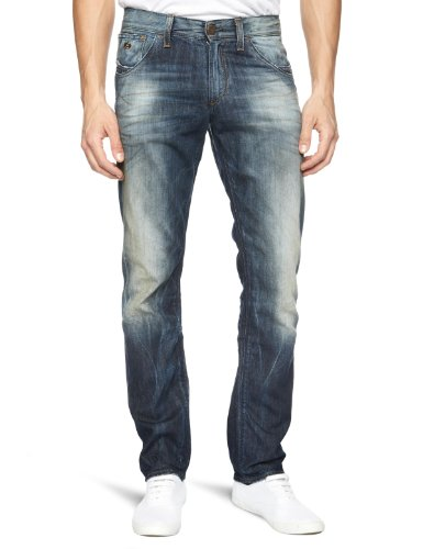 Energie Clod Straight Men's Jeans Blue W34INxL34IN