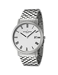 Jacques Lemans Men's GU197K Geneve Collection Baca Stainless Steel Watch