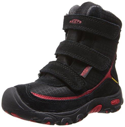 KEEN Trezzo WP Winter Boot - Little Boys' Black/Ribbon Red,