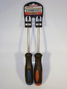 Screwdriver Set - Flat Head & Phillips Head