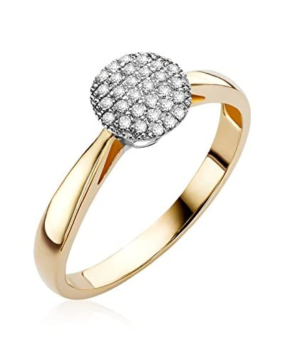 Miore Ring gold/silber