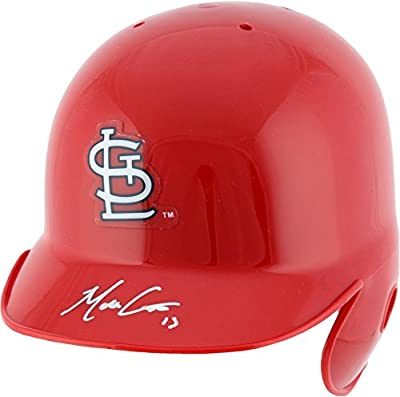 Matt Carpenter St. Louis Cardinals Autographed Red Mini Batting Helmet - Fanatics Authentic Certified