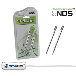 DS Regular Stylus Pen Set - Silver