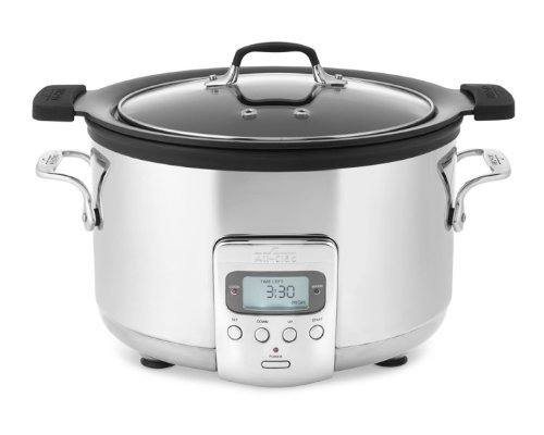 All-Clad Deluxe 4-QT. Slow Cooker with Cast Aluminum Insert