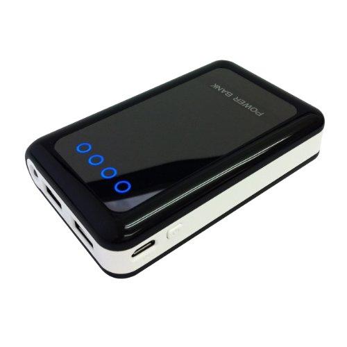Smagen Crown L 8400mAh (iPhone、スマートフォン約4回快速フル充電)大容量モバイルバッテリー 2台同時快速充電対応  iPhone5/4s iPad mini 、タブレット、Xperia、GALAXY等の各種スマートフォン、Wi-Fiルーター、PSP等マルチデバイスに対応、モバイルバッテリー本体に快速充電専用ACアダプターも付き (取扱説明書付き)