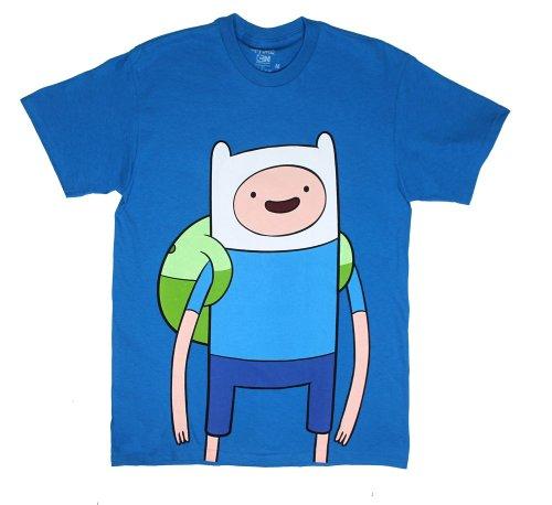 Big Finn - Adventure Time T-Shirt: Adult Medium - Teal