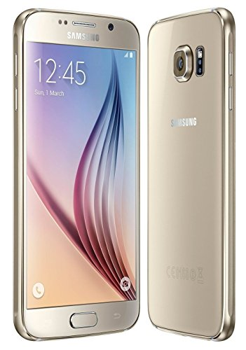"Samsung Galaxy S6 SM-G920F 32GB (FACTORY UNLOCKED) 5.1"" QHD Gold - International Version"