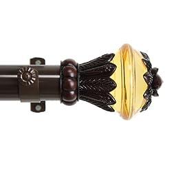 A&F Rod Decor - Frond Curtain Rod Set 48 - 84 inch, 1.5\