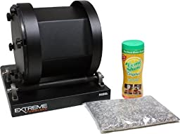 Stainless Steel Ammo Reloading Kit - Extreme Tumblers Rebel 17 Tumbler - Stainless Steel Media - Detergent