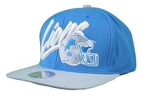 NFL Mitchell Ness Retro Vice Script Snapback Hat Cap NE99 Wool Detroit Lions by Mitchell & Ness
