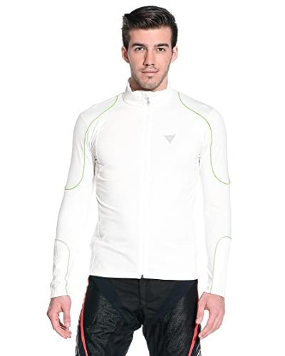 Dainese Giacca Tecnica Underwear Fleece Man Full Zip E1 [Bianco]