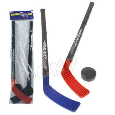 Three Piece Child Size Safety Hockey Set (Plastic Ice Hockey compare prices)