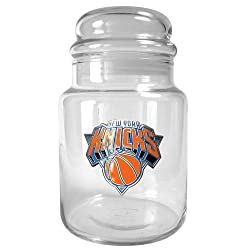 New York Knicks NBA 31oz Glass Candy Jar - Primary Logo