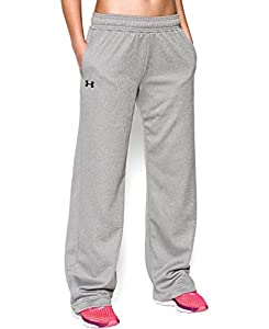 Under Armour Women's Armour® Fleece Team Pants Extra Small True Gray Heather