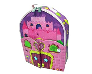 Neat-oh Zipbin Doll House Bring-along Backpack Colors And Styles Of Doll May Vary from Neat-Oh