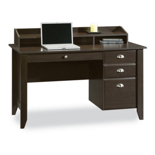 Sauder Shoal Creek Desk, Jamocha Wood