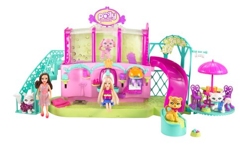 Buy Low Price Mattel Polly Pocket Sparklin Pets Spa Figure (B0017UZQ74)