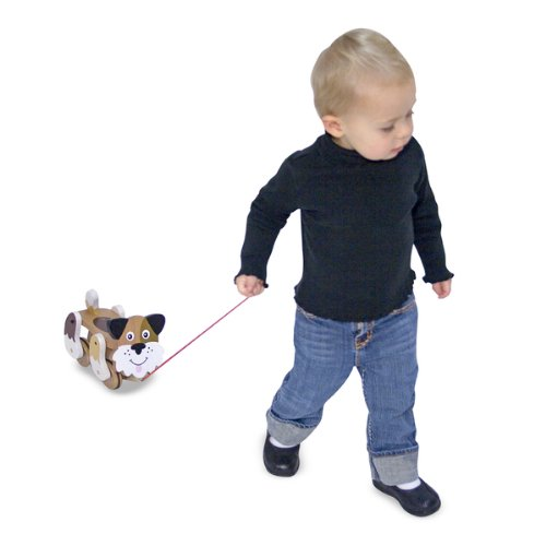 Playful Puppy Pull Toy front-1065412