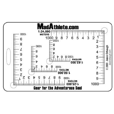 MadAthlete UTM Plotter (4-scale)