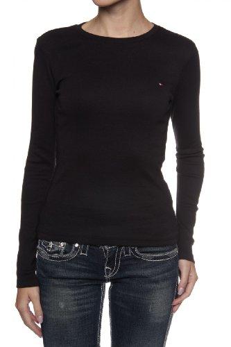 Tommy Hilfiger Longsleeve , Color: Black, Size: XS