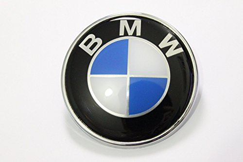 BMW Roundel Emblem OEM 51 14-8132375 Hood Trunk 82mm (Bmw Oem Hood Emblem compare prices)
