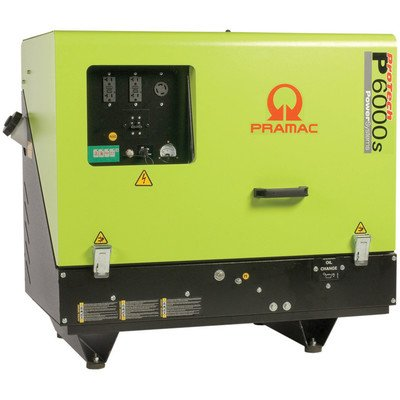 Pramac P6000S Manual/Electric Start Portable Diesel Generator (Discontinued By Manufacturer)