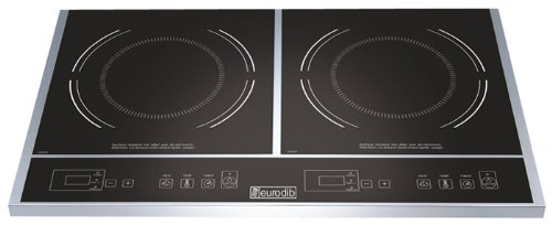 Cooktop, Double Induction, 1800W, 120V