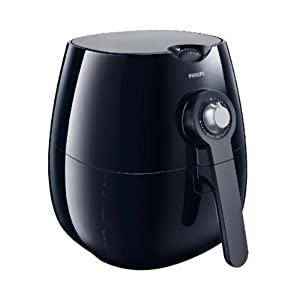 Philips HD9220/20 Airfryer Healthier Oil Free Fryer - Black