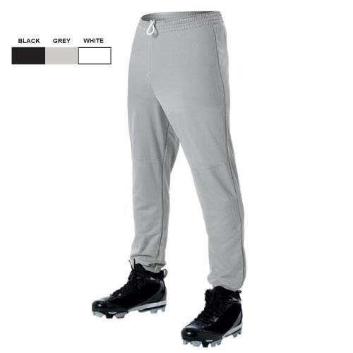 Elastic Waist Baseball Pant - Youth alleson athletic youth unisex reversible basketball shorts kelly green white s