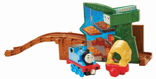 Fisher-Price Thomas The Train - Take-n-Play Thomas and Cranky at The Docks