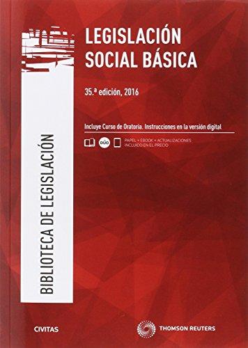 Legislación social básica (35ª ed.) 2016 (Biblioteca de Legislación)