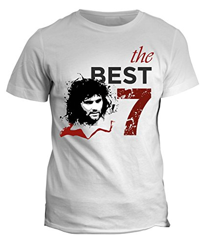 Tshirt Vecchie glorie del calcio - George Best - in cotone by Fashwork