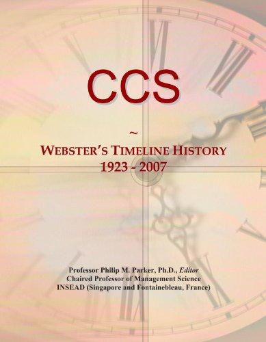 ccs-websters-timeline-history-1923-2007