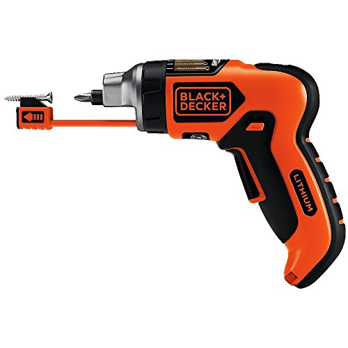 BLACK+DECKER LI4000 4-Volt Lithium-Ion SmartSelect Screwdriver with Magnetic Screw Holder (Bosch Ixo compare prices)